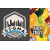 Sigma Juicy Fruit 0 mg