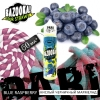 Bazooka Sour Straws Blue Raspberry 60мл