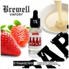 Brewell Vapory Mylk Strawberry 30мл