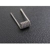 Fused Clapton coil 2*0,4(0,3)+0.2 (0,1) мм