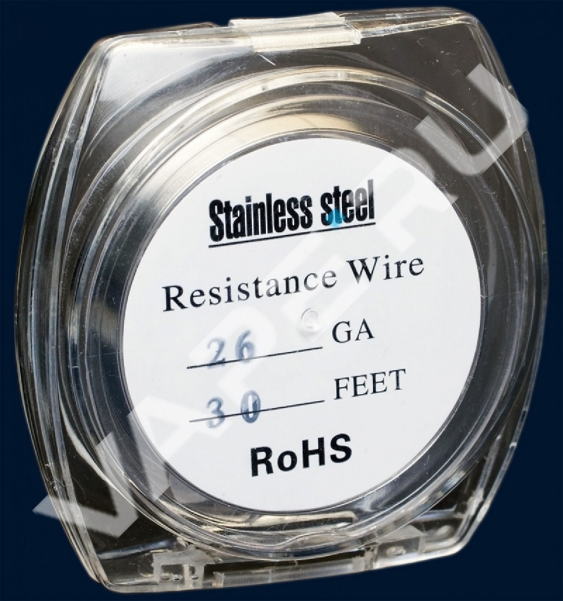 Проволка Stainless Steel Resistance Wires 26GA 10M