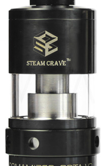 Атомайзер STEAM CRAVE Aromamizer RDTA V2 - Black