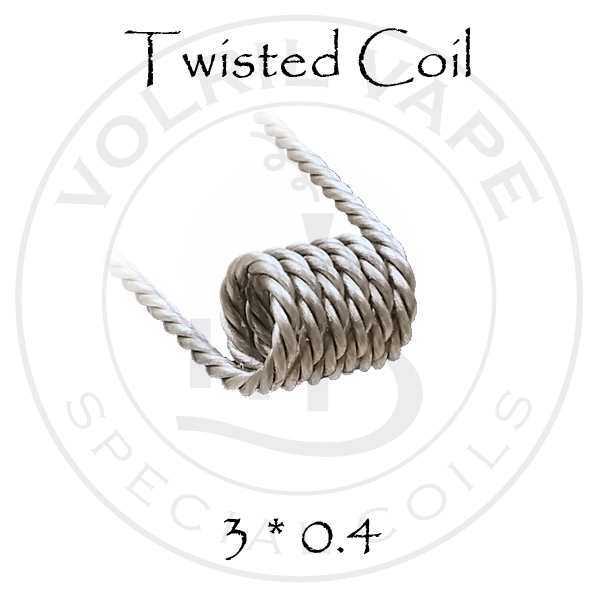 Twisted coil