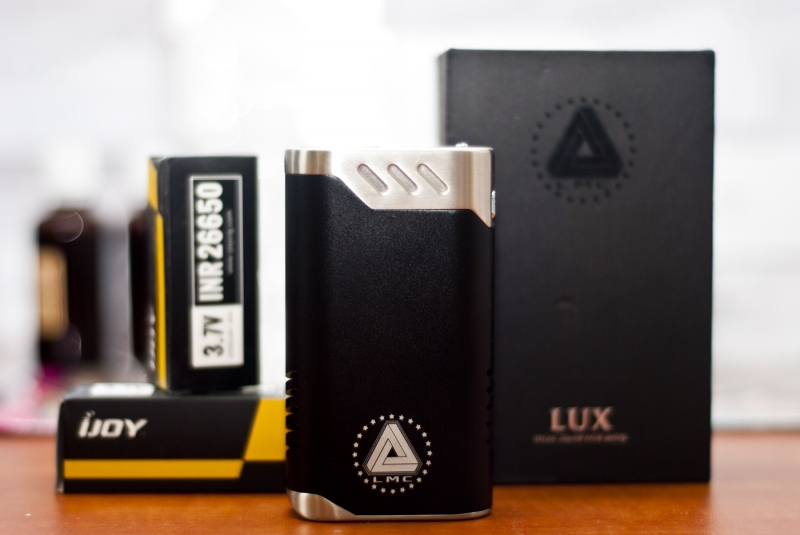 LUX от IJOY / LIMITLESS MODS 215W