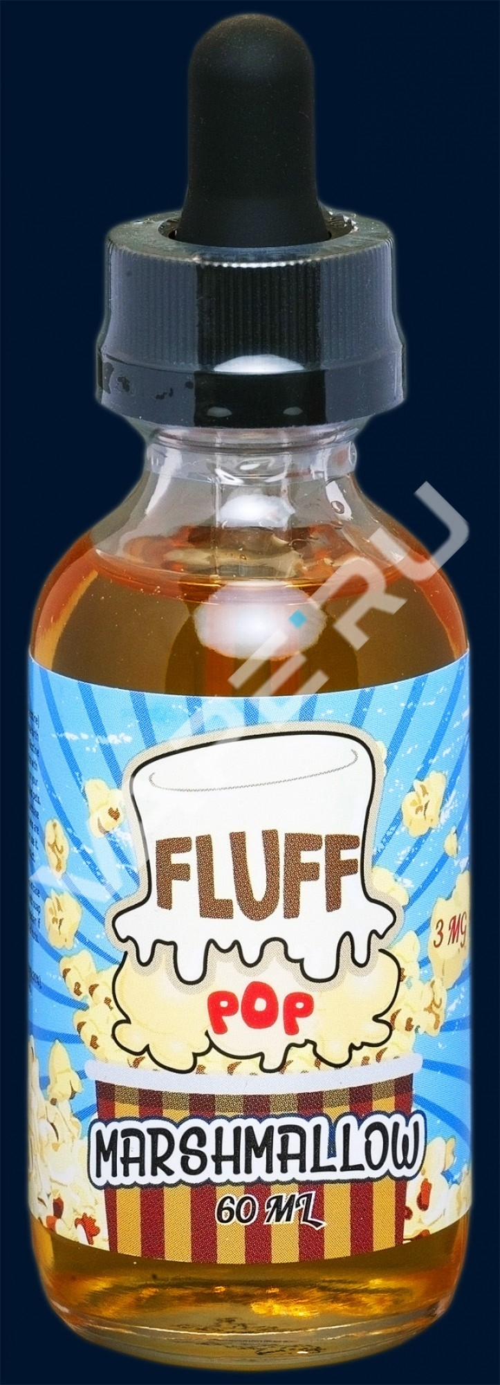 Fluff Pop, Marshmallow, 60 ml