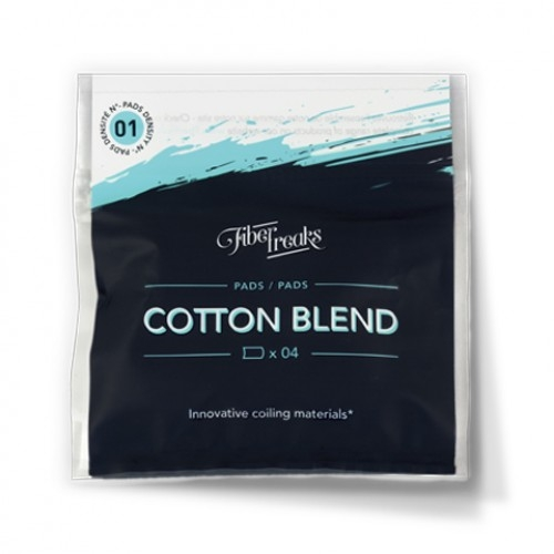 Вата Fiber Freaks Cotton Blend Pads 01
