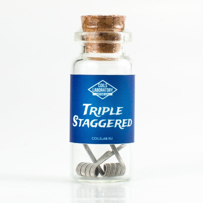 Triple Staggered Fused Clapton / 0.08 ohm / для синглмеха