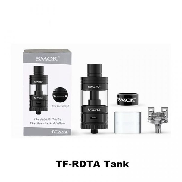 SMOK TF-RDTA 24mm ( Оригинал ) ( Black )