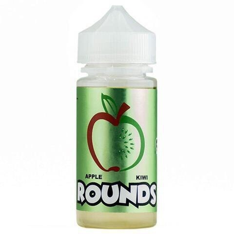 Apple Kiwi Rounds E-Liquid 120ml 3mg