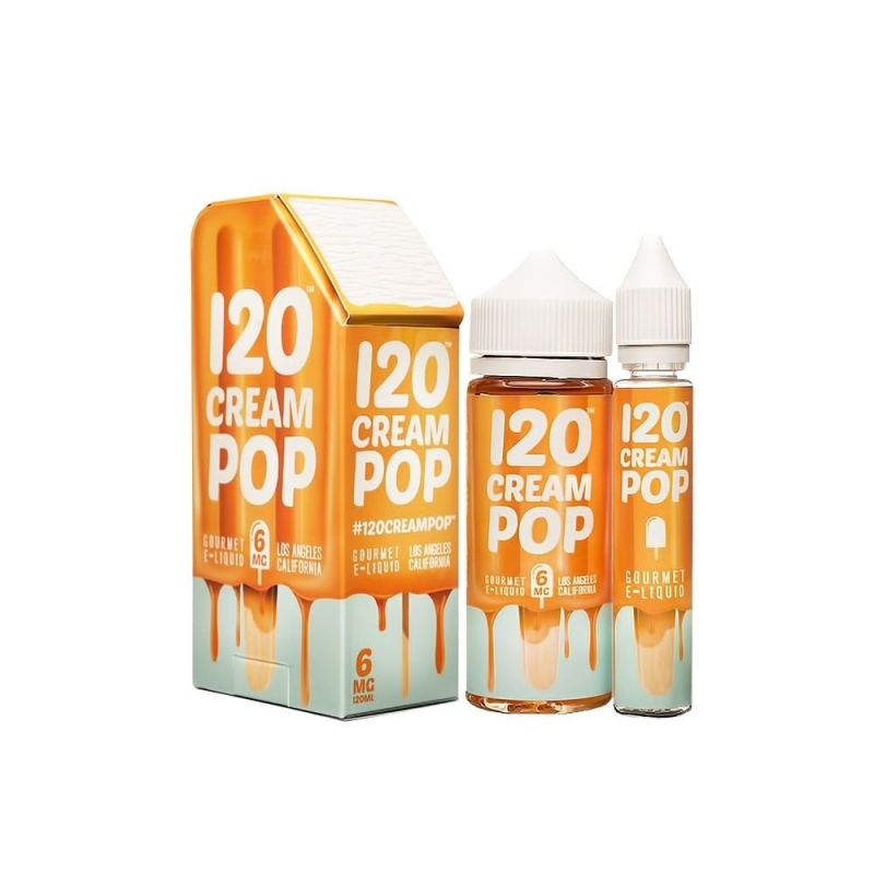 120 Cream Pop 120ml by Mad Hatter Juice