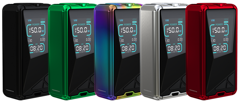 Бокс мод Eleaf Tessera 150w TC Box Mod Li-Pol