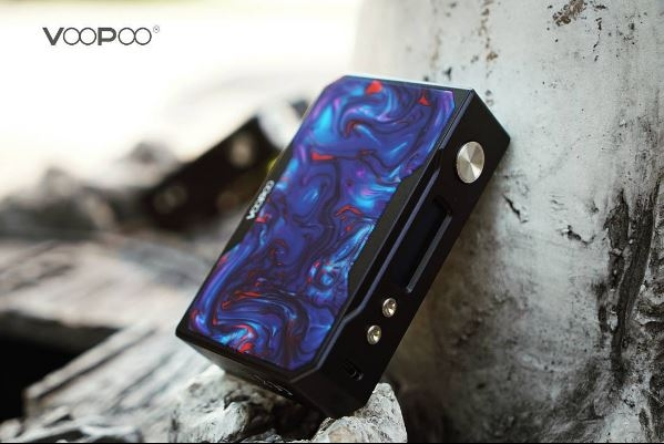 VOOPOO Drag Resin - Black Edition - боксмод цвет Azure