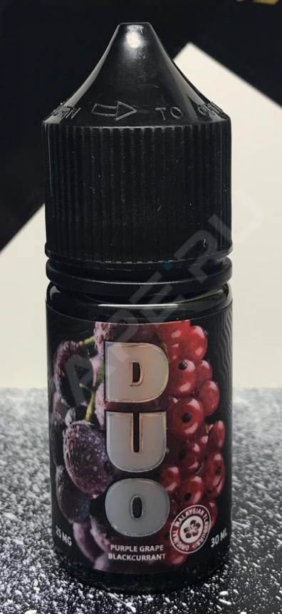 DUO, Purple Grape Blackcurrant SALT