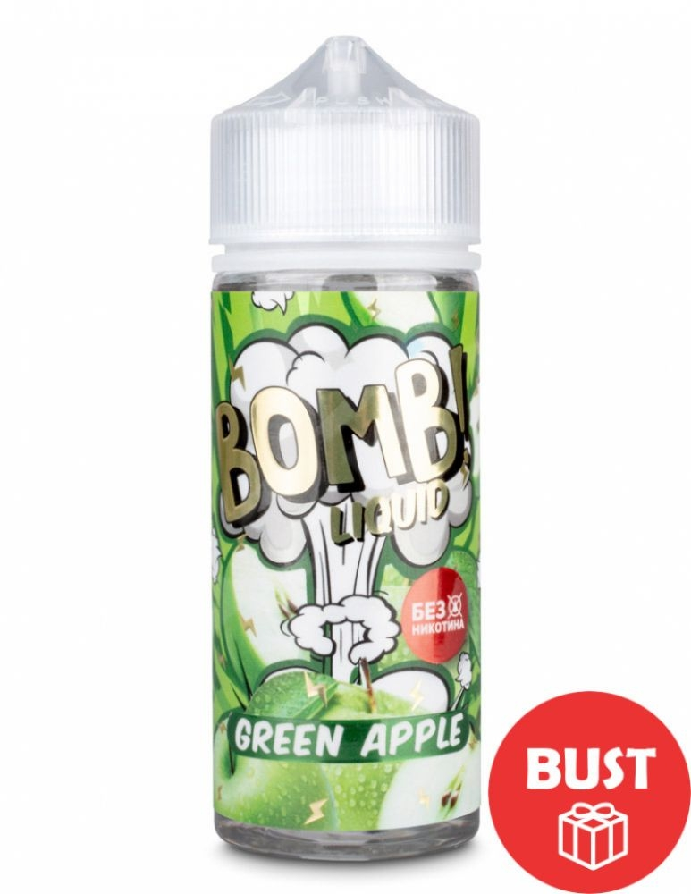 BOMB! Liquid, Green Apple